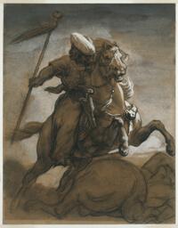 Turkish Cavalier in Combat