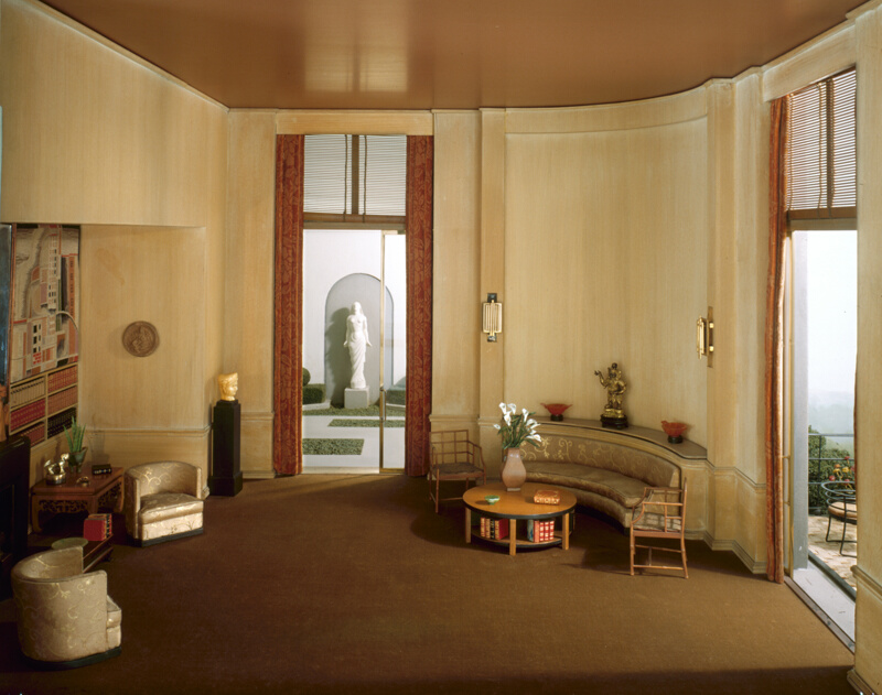 Rooms: E-27: French Library Of The Modern Period, 1930s