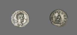 Denarius (Coin) Portraying Macrinus