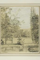 River and Park Landscape