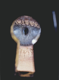 Eye in Keyhole, New York