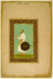 Album Page with a Portrait of Namdar Khan (Side A) and Calligraphic Specimens (Side B)