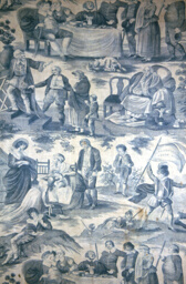 Shakespeare's Seven Ages (of Man) (Furnishing Fabric)