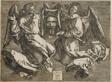 Sudarium Displayed by Two Angels