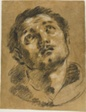 Head of Saint Stephen: Study for the Martyrdom of Saint Stephen