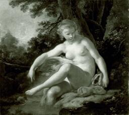 Bathing Nymph