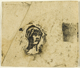 Sketches, Fragment: Head of a Woman Wearing a Kerchief
