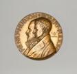 Medal Depicting Henry Hudson and Robert Fulton Celebration