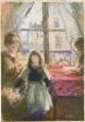 At the Window, rue des Trois Frères
