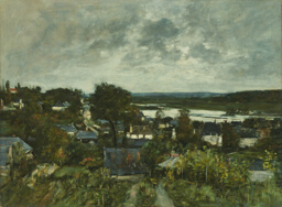 La Touques near Deauville
