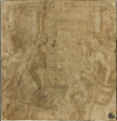Study for Saint Francis of Assisi Giving His Cloak to an Impoverished Knight