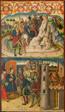 Saint Christopher Meets Satan; Saint Christopher before the King of Lycia