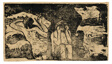 At the Black Rocks, from the Suite of Late Wood-Block Prints