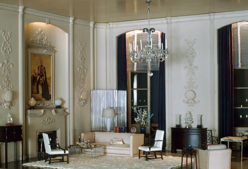 Rooms: E-15: English Drawing Room Of The Modern Period, 1930s