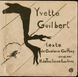 Cover for Yvette Guilbert