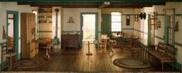A18: Shaker Living Room, c. 1800