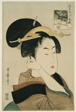 "Tatsumi Roko, from the series ""Renowned Beauties Likened to the Six Immortal Poets"" (""Komei bijin rokkasen"")"