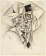 Self-Portrait with Straw Boater