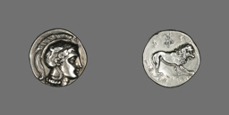Stater (?) (Coin) Depicting the Goddess Athena