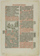 Leaf from Pontificale Romanum, plate 91 from Woodcuts from Books of the XVI Century