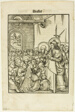 Christ Preaching, from Leben Jesu Christi, plate 19 from Woodcuts from Books of the XVI Century