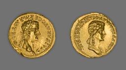 Aureus (Coin) Portraying Emperor Gaius (Caligula)