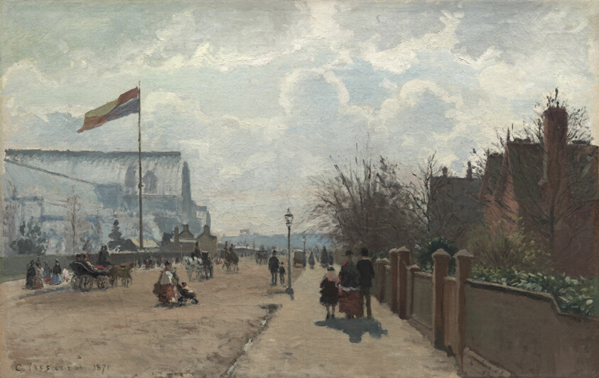 Image result for The Crystal Palace (1871)