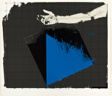 Hand with Blue Triangle