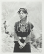 Actress of Tibetan Drama Society in dress of Central Tibet.