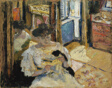 The Dressing-Room, Madame Hessel Reading at Amfréville