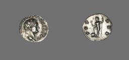 Denarius (Coin) Portraying Emperor Titus