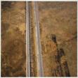 Railroad Tracks, Drummond Prairie, Former Joliet Arsenal, Will County, Illinois