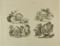 Mill Wheels near Abergele, Denbigh, Whitby, Richmond