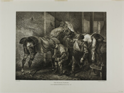The English Farrier, plate 10 from Various Subjects Drawn from Life on Stone