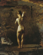 "Study for ""William Rush Carving His Allegorical Figure of the Schuylkill River"""