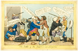 Battle of Barbers and Surgeons
