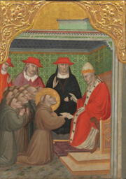 Saint Francis before the Pope (The Approva of the Franciscan Rule)