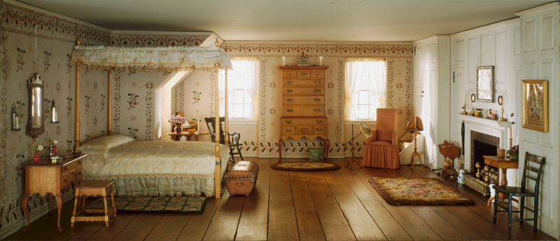 A13 New England Bedroom 1750 1850 The Art Institute Of