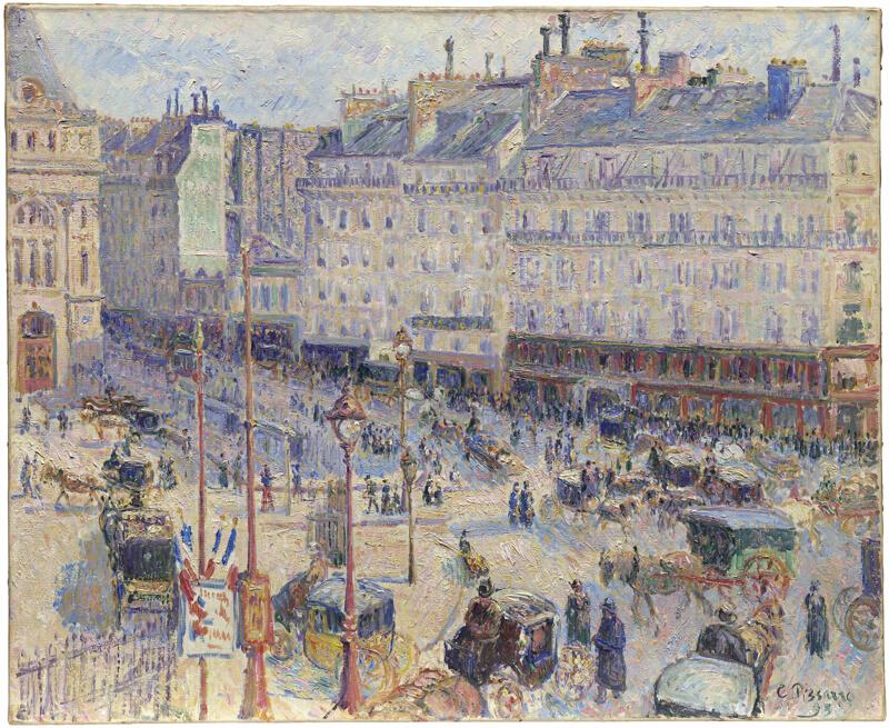 The Place du Havre, Paris   The Art Institute of Chicago