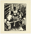 New Orleans - print #13 of 52 in the 1936 Calendar of The Chicago Society of Artists