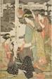 The Chushingura Drama Parodied by Famous Beauties: A Set of Twelve Prints (Komei bijin mitate Chushingura, junimai tsuzuki)