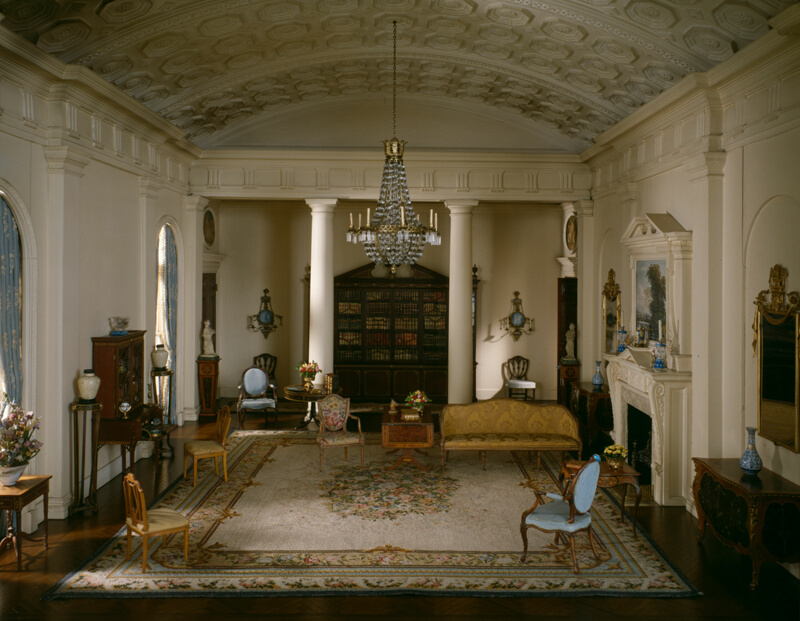 E 9 English Drawing Room Of The Georgian Period 1770