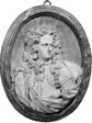 Oval Medallion with Portrait of a Nobleman