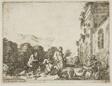 Bacchanalian Scene with Allegorical Figures