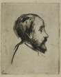 Profile Portrait of Degas