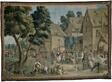 Village Fete (Saint George's Fair), from a Teniers series