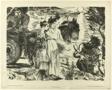 Odysseus and Nausikaa