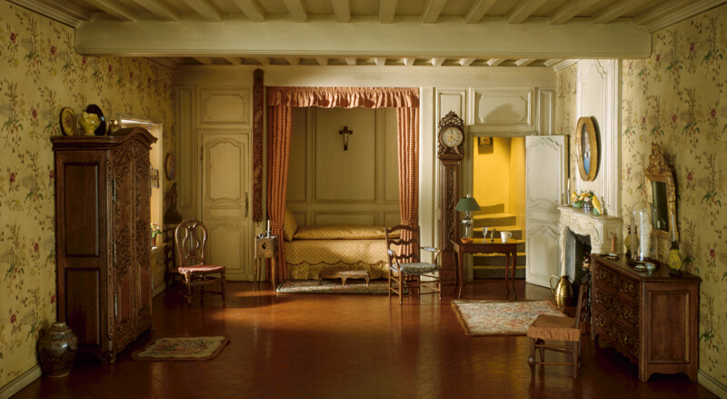 E-22: French Provincial Bedroom of the Louis XV Period, 18th ...