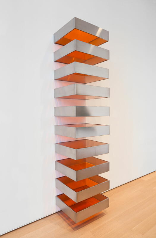 Untitled the art institute of chicago for Donald judd stack 1972