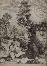 Saint Francis Penitent in a Large Landscape